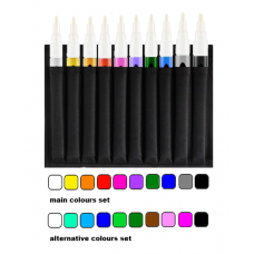 POISON SMOOTH 4mm 10 MARKERS SET